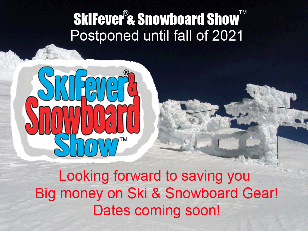Portland Ski Fever Ski and Snowboard Show Cancelled until 2021